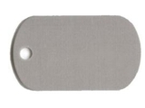 Medalion Aluminiu 100 Dog Tag 50x29 mm - 27 RON